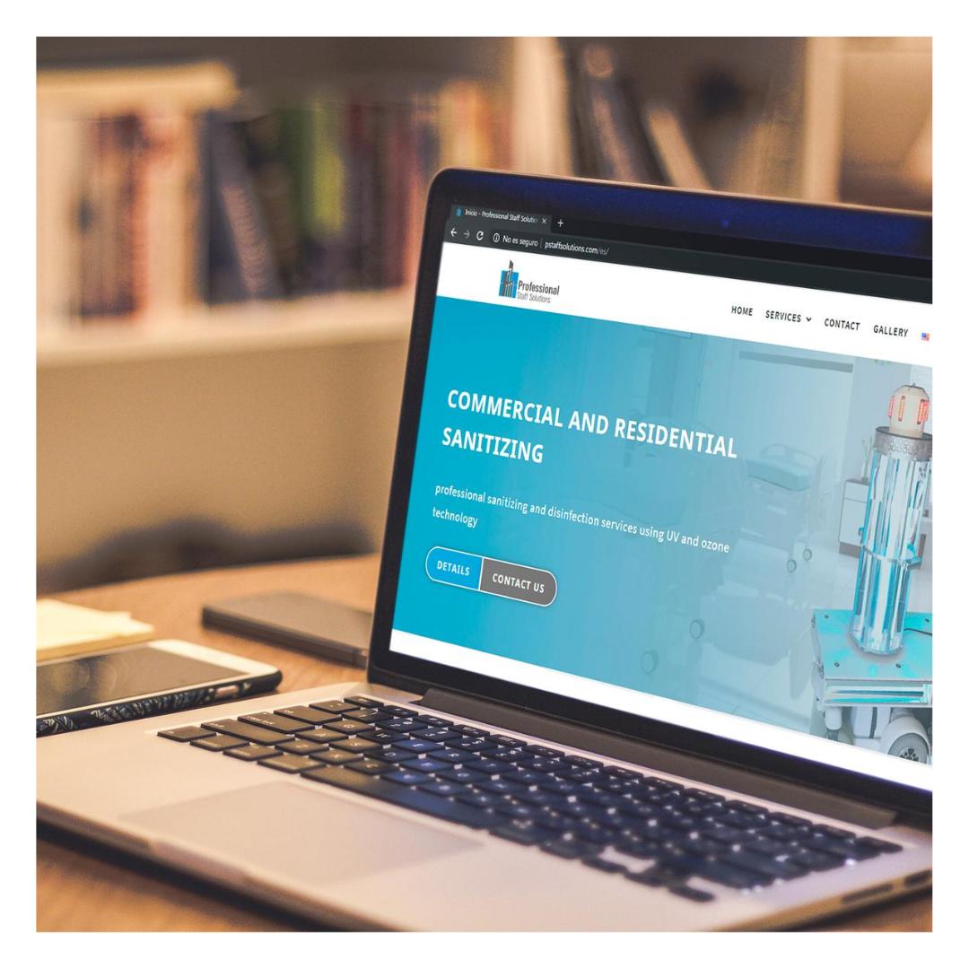 Professional Staff Solutions Web